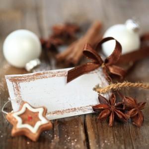 Weihnachtsanhänger blanko