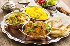 Kinder kochen wie in Indien