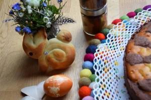 kulinarische Geschenke für den Osterhasen