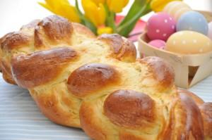 Challah zu Ostern