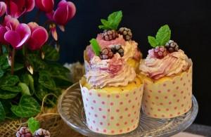 cupcake muffin beeren törtchen